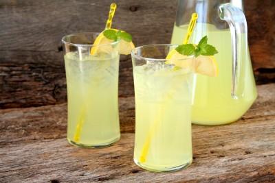 Zázvorová limonáda ve Villa Pellé