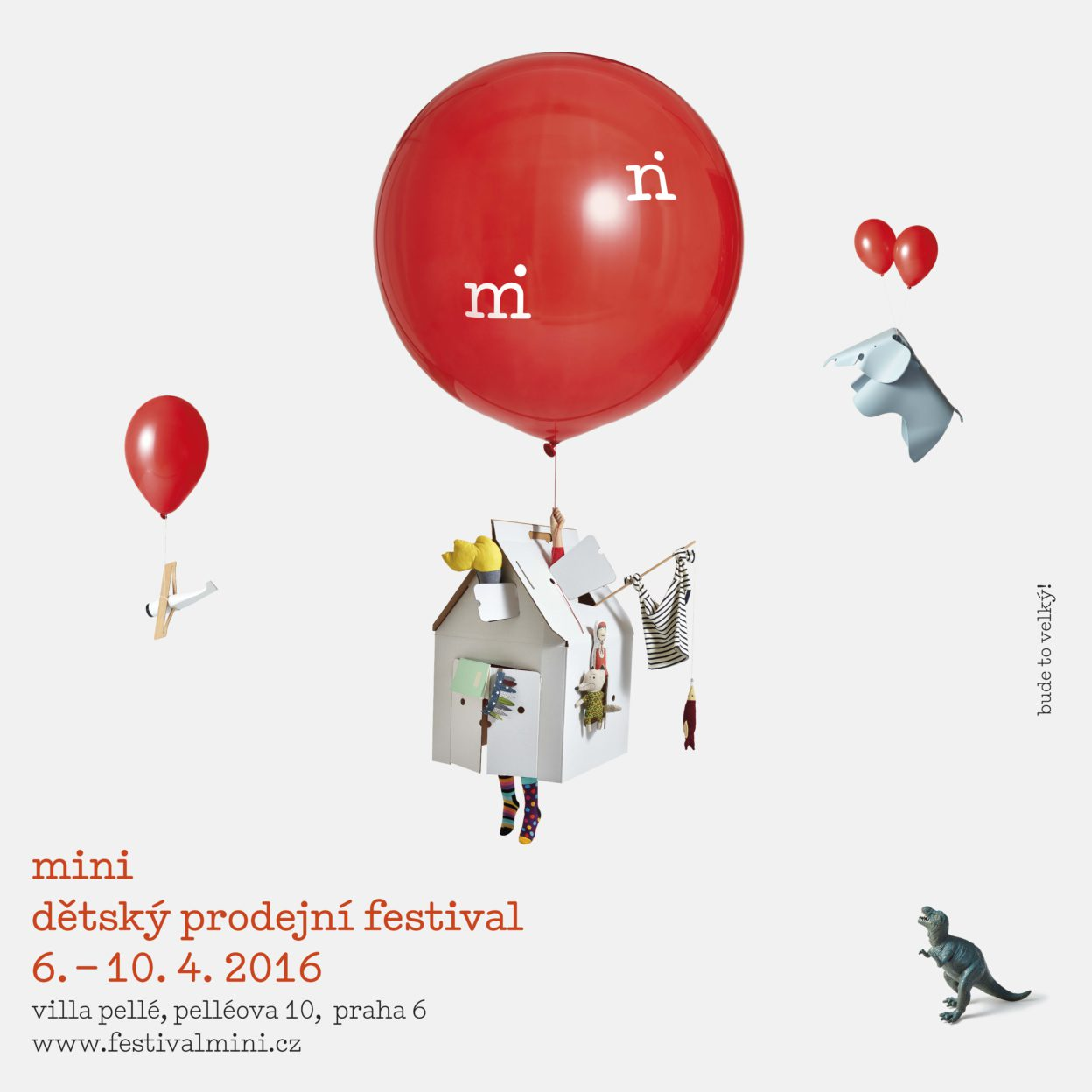 mini – dětský prodejní festival – od 6.do 10.dubna vcelé vile