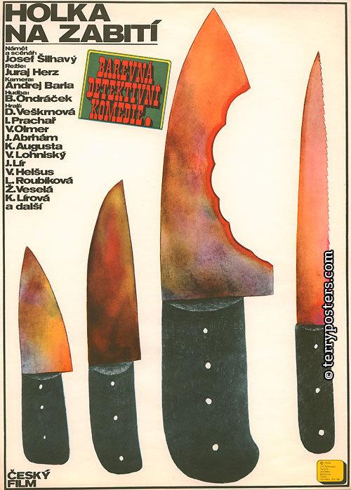 Československý autorský filmový plakát vsouvislostech – přednáška, 24.5.v17:30