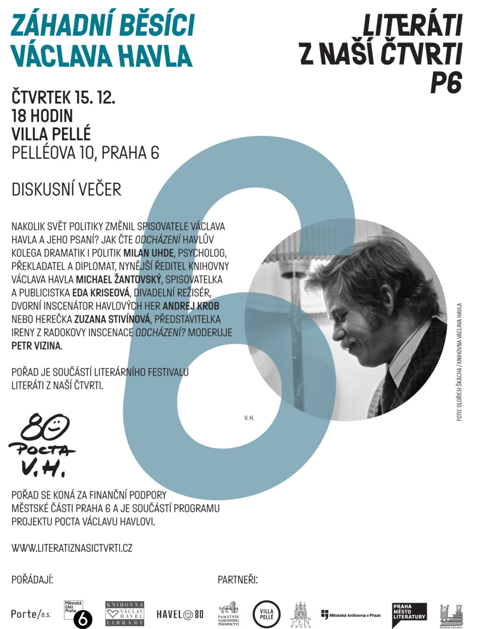 ZÁHADNÍ BĚSÍCI VÁCLAVA HAVLA – diskusní večer ve Villa Pellé