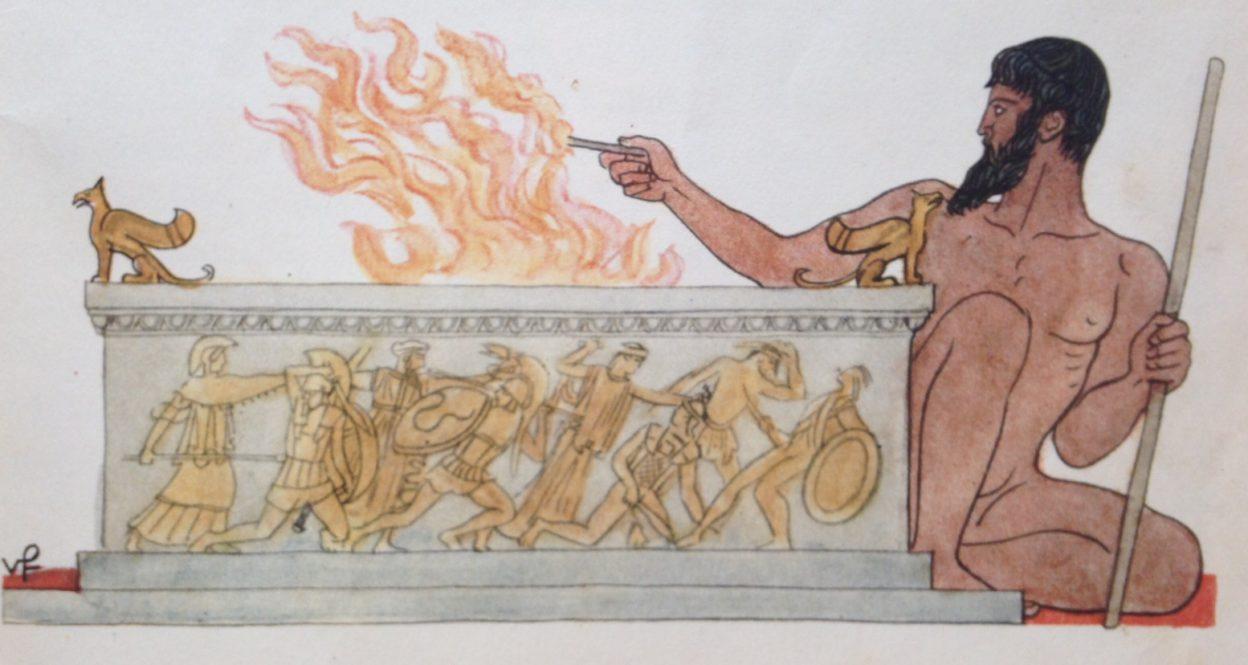 NEDĚLNÍ ŠKOLA – Vříši bohů – Starověk / Antika