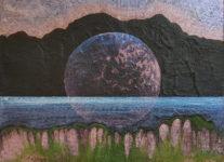 Bowl, 2016, akryl a olej na plátně