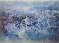 Homo Spiritualis, 2014, acrylic and oil on canvas, 140x200cm