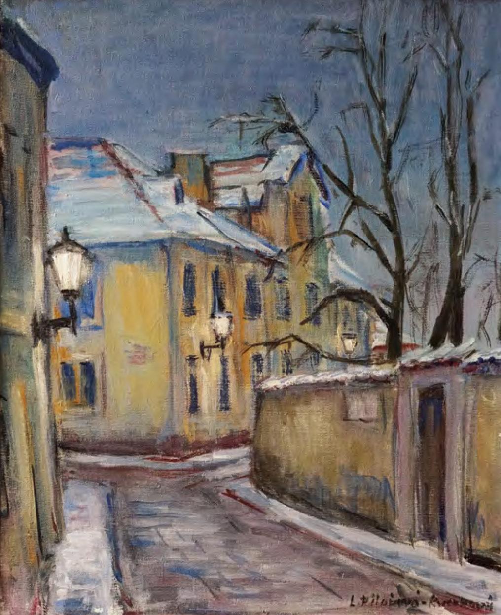 Město akrajina – Libuše Pilařová Kverková vMalé galerii