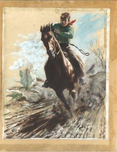 Konečný byl fenomén na dynamické ilustrace koní tato obálka časopisu Vpřed se jmenuje – Kůň krásný a věrný přítel člověka (1947) a je vystavena úplně poprvé