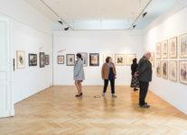 Bohumil Bimba Konečný - výstava ve Villa Pellé