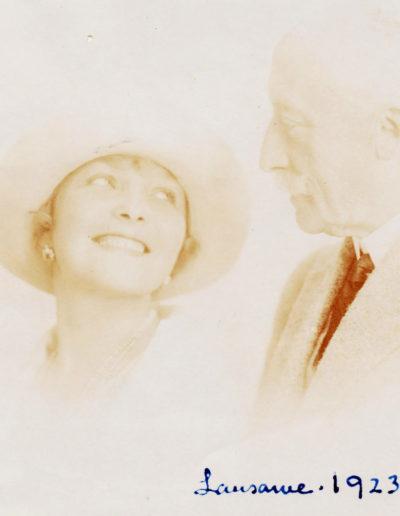 Maurice Pellé s Jarou Pellé v Lausanne,1923