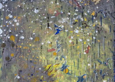 2007-2015_Japonská zahrada_Japanesse garden_mixed media_128x65,5