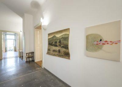 © Galerie Villa Pellé 2019, foto: Eva Malúšová : instalace výstavy Alžběta Skálová, Chůze v šeru16