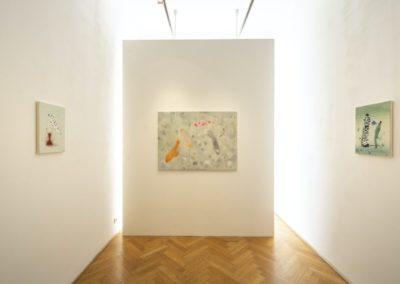 © Galerie Villa Pellé 2019, foto: Eva Malúšová : instalace výstavy Alžběta Skálová, Chůze v šeru17