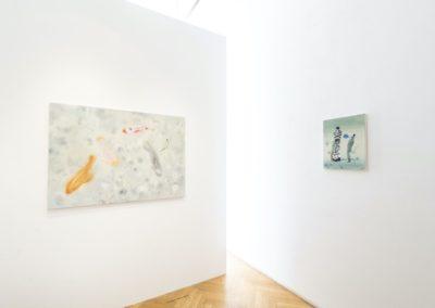 © Galerie Villa Pellé 2019, foto: Eva Malúšová : instalace výstavy Alžběta Skálová, Chůze v šeru20