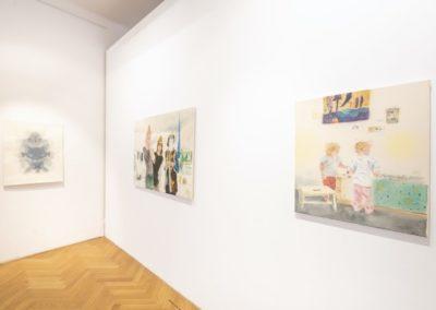 © Galerie Villa Pellé 2019, foto: Eva Malúšová : instalace výstavy Alžběta Skálová, Chůze v šeru21