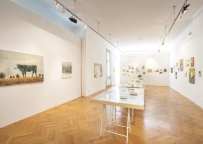 © Galerie Villa Pellé 2019, foto: Eva Malúšová : instalace výstavy Alžběta Skálová, Chůze v šeru22