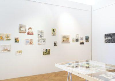 © Galerie Villa Pellé 2019, foto: Eva Malúšová : instalace výstavy Alžběta Skálová, Chůze v šeru24