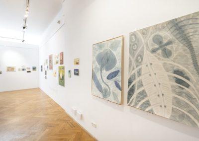 © Galerie Villa Pellé 2019, foto: Eva Malúšová : instalace výstavy Alžběta Skálová, Chůze v šeru26