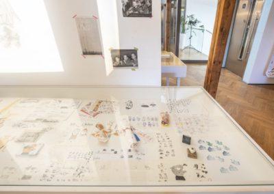 © Galerie Villa Pellé 2019, foto: Eva Malúšová : instalace výstavy Alžběta Skálová, Chůze v šeru37
