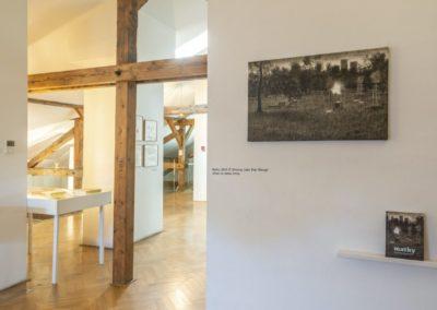 © Galerie Villa Pellé 2019, foto: Eva Malúšová : instalace výstavy Alžběta Skálová, Chůze v šeru41