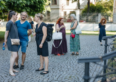 © Galerie Villa Pellé 2019, foto: Eva Malúšová : vernisáž výstavy Alžběta Skálová, Chůze v šeru11
