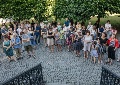 © Galerie Villa Pellé 2019, foto: Eva Malúšová : vernisáž výstavy Alžběta Skálová, Chůze v šeru22