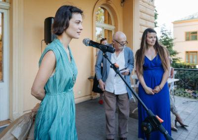 © Galerie Villa Pellé 2019, foto: Eva Malúšová : vernisáž výstavy Alžběta Skálová, Chůze v šeru25