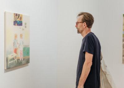 © Galerie Villa Pellé 2019, foto: Eva Malúšová : vernisáž výstavy Alžběta Skálová, Chůze v šeru59