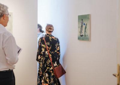 © Galerie Villa Pellé 2019, foto: Eva Malúšová : vernisáž výstavy Alžběta Skálová, Chůze v šeru61