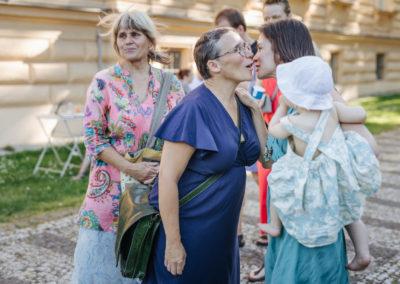 © Galerie Villa Pellé 2019, foto: Eva Malúšová : vernisáž výstavy Alžběta Skálová, Chůze v šeru7