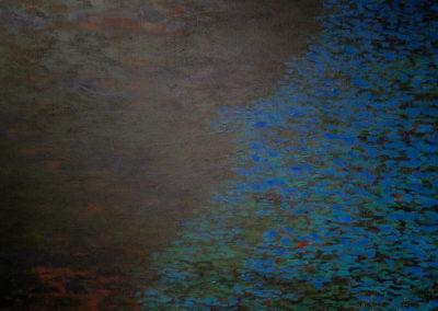 Jan_Tichý_1_Tůň_akryl na plátně 160 x 145 cm