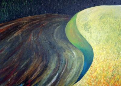 Jan_Tichý_3_Podzimn krajina_akryl na plátně 140 x 110 cm