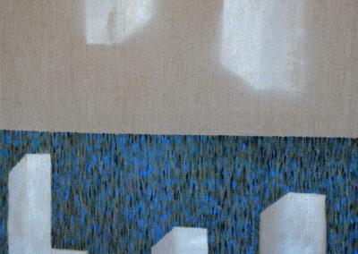 Jan_Tichý_6_Architektura III_akryl na plátně 70 x 70 cm