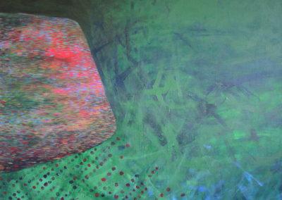 Jan_Tichý_Krajina-Jaro_akryl na plátně 140 x 110 cm