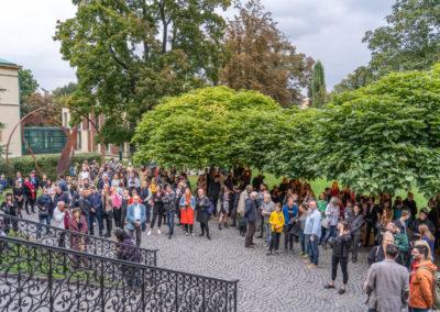 Azajtókzáródnak VERNISÁŽ - © Galerie Villa Pellé 2019, foto Tomáš Rubín - 19