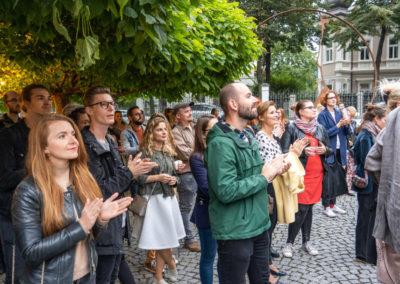 Azajtókzáródnak VERNISÁŽ - © Galerie Villa Pellé 2019, foto Tomáš Rubín - 42
