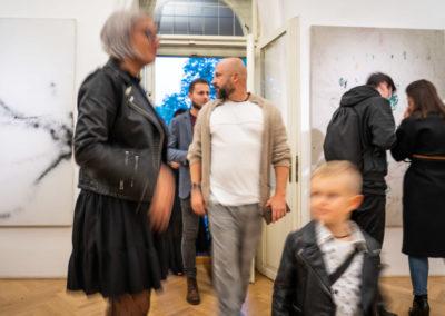 Azajtókzáródnak VERNISÁŽ - © Galerie Villa Pellé 2019, foto Tomáš Rubín - 50
