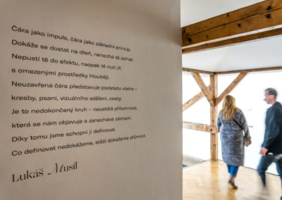Azajtókzáródnak VERNISÁŽ - © Galerie Villa Pellé 2019, foto Tomáš Rubín - 59