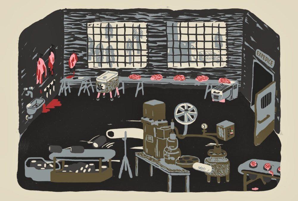 Škola ilustrace: tvůrčí dílna sJuliánou Chomovou