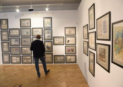 2019 Galerie Villa Pellé ©, Šlitr Šlitr Šlitr - vernisáž, foto: Jakub Joachim 100