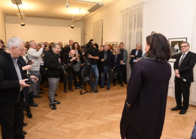 2019 Galerie Villa Pellé ©, Šlitr Šlitr Šlitr - vernisáž, foto: Jakub Joachim 27