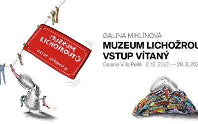 GALINA MIKLÍNOVÁ:  MUZEUM LICHOŽROUTŮ VSTUP VÍTANÝ!!!