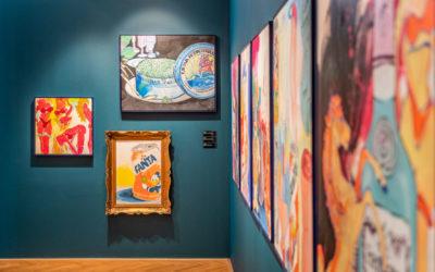 Pasta Oner otevřel výstavu 20th Century  Cabinet